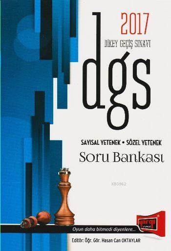 DGS Sayısal Yetenek Sözel Yetenek Soru Bankası 2017