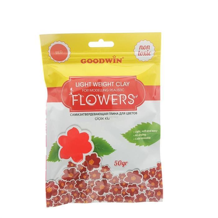 Goodwin Çiçek Kili 50Gr Kirmizi