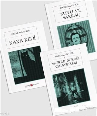 Edgar Allan Poe Seti; (3 Kitap Takım)