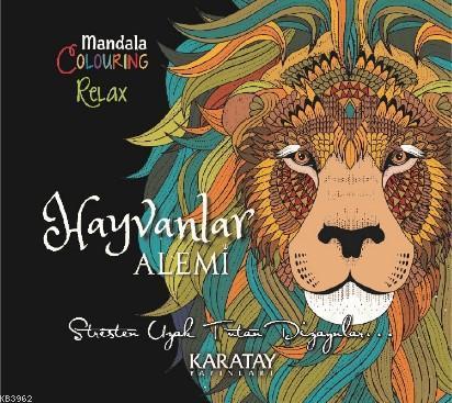 Mandala Clouring Relax Hayvanlar Alemi