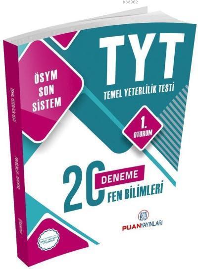 2018 YKS TYT Fen Bilimleri 20 Deneme 1. Oturum