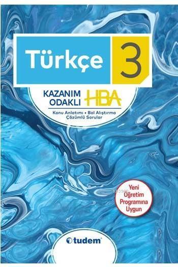 Tudem Yayınları 3. Sınıf Türkçe Kazanım Odaklı HBA Tudem