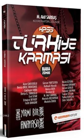 2019 KPSS Türkiye Karması Baba Zümre Anayasa 21 Deneme Sınavı Tamamı Çözümlü