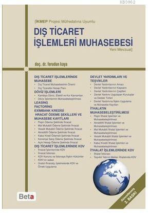 İKMEP Projesi Müfredatına Uyumlu Dış Ticaret İşlemleri Muhasebesi