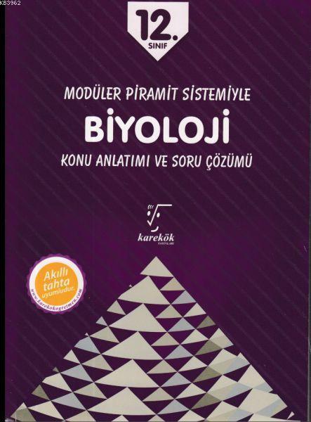 Karekök Yayınları 12. Sınıf Biyoloji MPS Konu Anlatımı ve Soru Çözümü Karekök