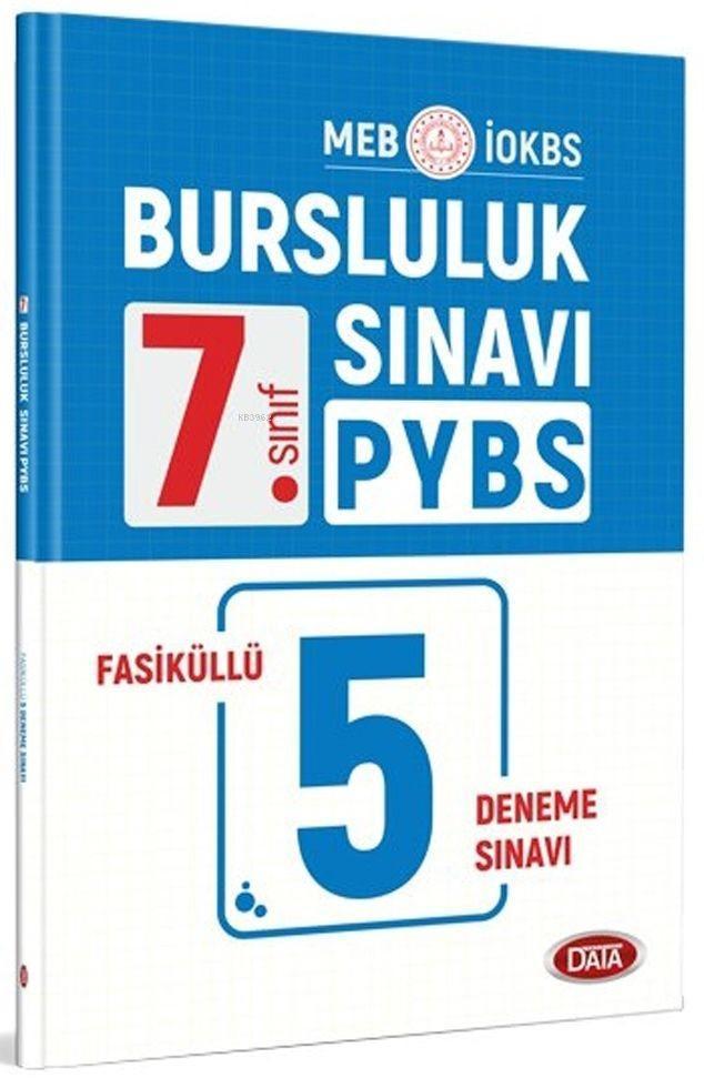 Data Yayınları 7. Sınıf Bursluluk Sınavı PYBS Fasiküllü 5 Deneme Sınavı Data