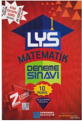 LYS Matematik Deneme Sınavı- 10 Fasikül