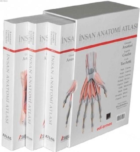 İnsan Anatomisi Atlası (3 Cilt Takım)
