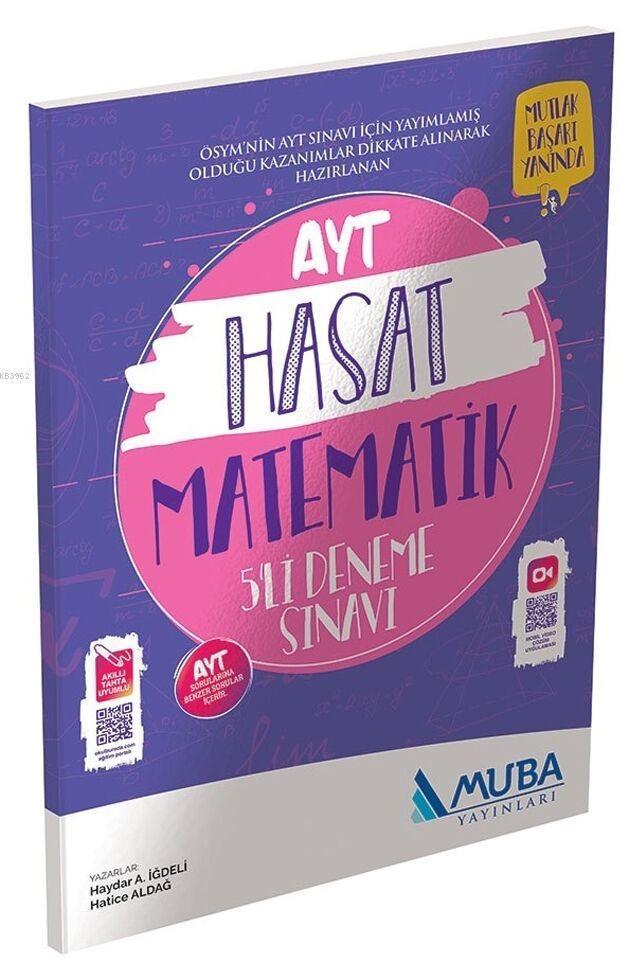 Muba Yayınları AYT Matematik Hasat 5li Deneme Sınavı 2020 Özel Muba