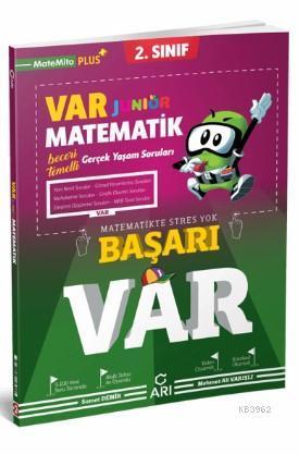 Arı Yayınları 2. Sınıf Matematik Junior VAR Soru Bankası Arı
