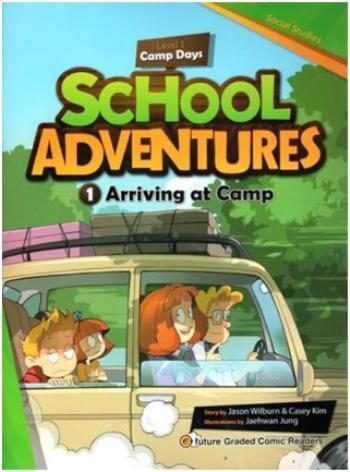 Arriving at Camp +CD; School Adventures 1