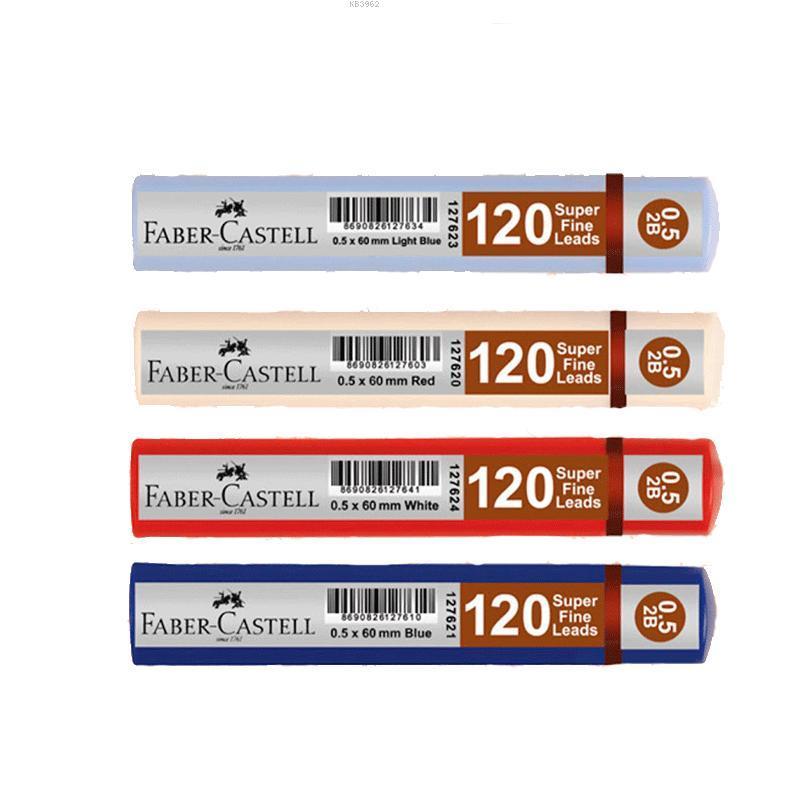 Faber Castel Grip Min 0.5 Mm 120` li Mavi