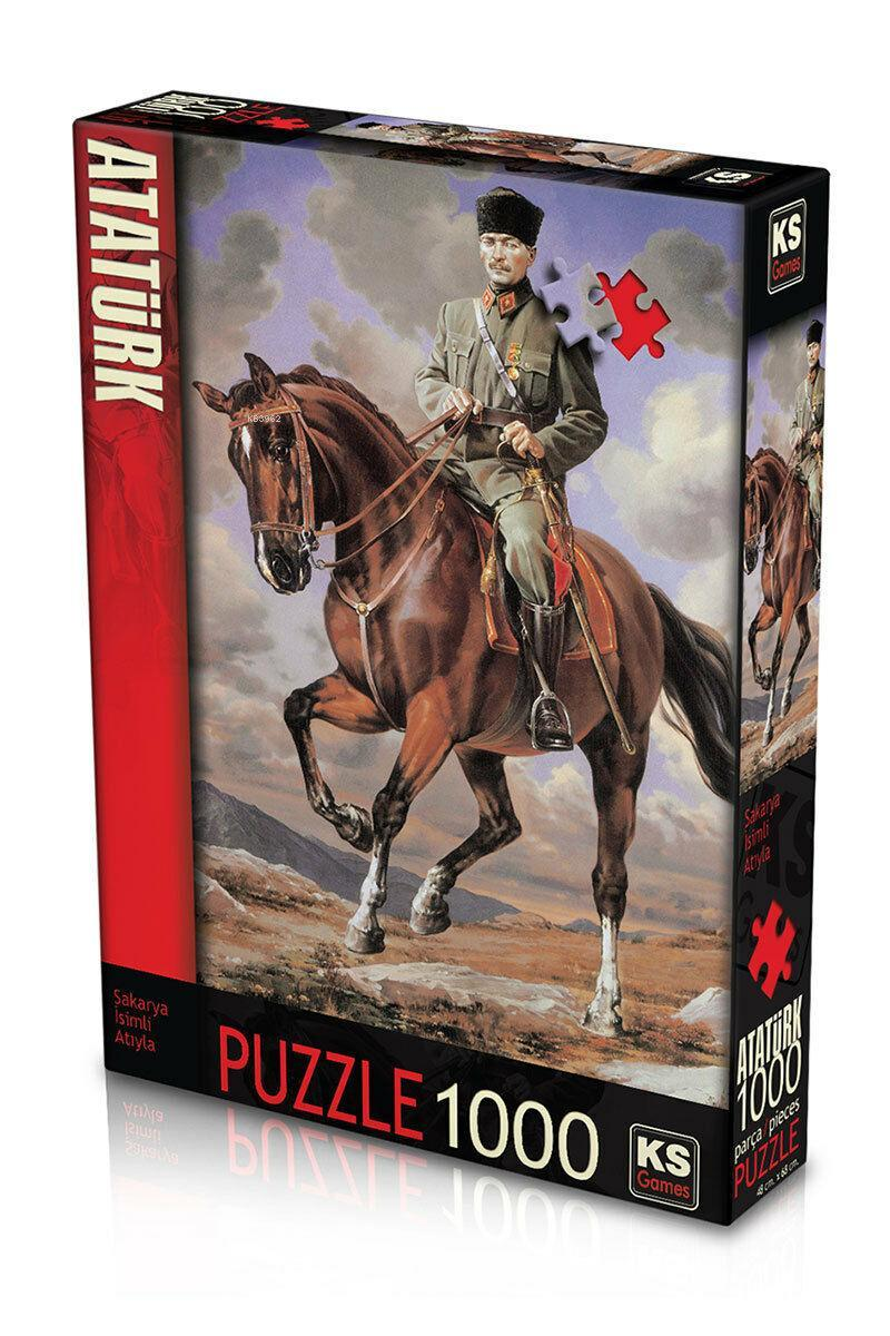 KS 11131 Gazi Mustafa Kemal Puzzle 1000 Parça