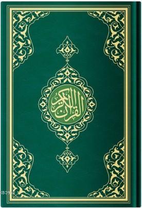 Orta Boy Resm-i Osmani Kur'an-ı Kerim (Özel, Yeşil Kapak, Mühürlü, Kod:KR0040)