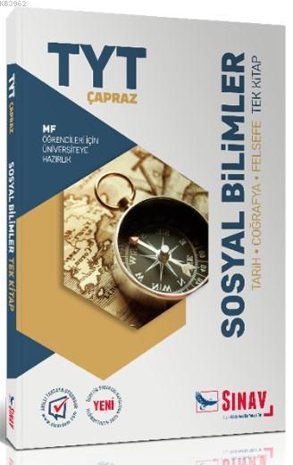 Sınav Dergisi Yayınları TYT Sosyal Bilimler Çapraz MF Öğrencileri İçin Tek Kitap Sınav Dergisi