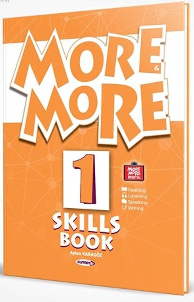 Kurmay ELT Yayınları 1. Sınıf More More English Skills Book Kurmay ELT Yayınları Kurmay ELT