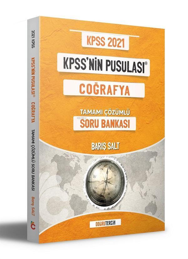 2021 KPSS'NİN Pusulası Coğrafya Soru Bankası Doğru Tercih Yayınları