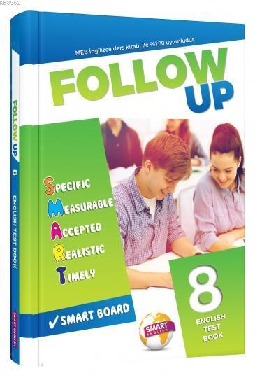 Follow Up 8 Englısh Test Book Smart English