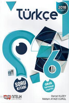 Nitelik Yayınları 6. Sınıf Türkçe Soru Kitabı Nitelik