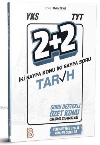 YKS TYT Tarih 2+2 Soru Destekli Özet Konu Yaprakları Benim Hocam Yayınları