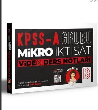 KPSS A Mikro İktisat Video Ders Notları