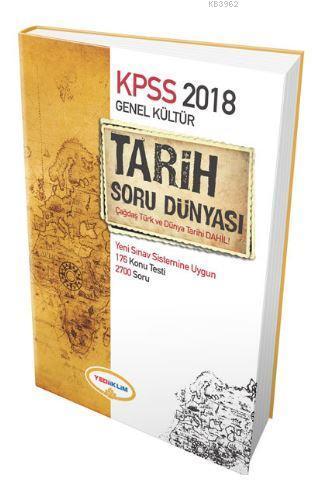 2018 KPSS Genel Kültür Tarih Soru Dünyası