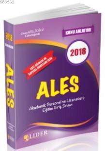 2018 ALES Konu Anlatımı