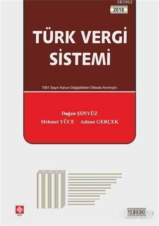 Türk Vergi Sistemi (Doğan Şenyüz)