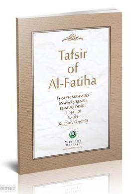 Fatiha Tefsiri İngilizce