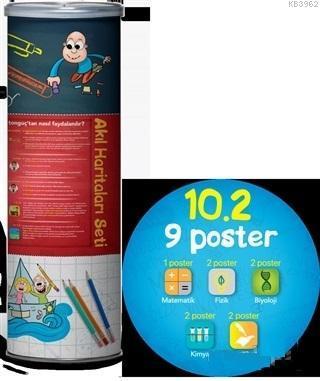 10.2 Akıl Haritaları Seti (9 Poster)