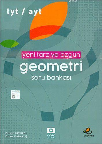 Endemik Yayınları TYT AYT Geometri Yeni Tarz ve Özgün Soru Bankası Endemik