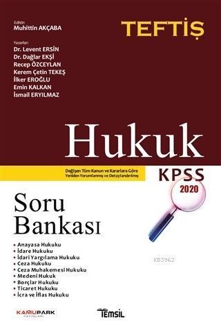 Hukuk Soru Bankası; KPSS 2020