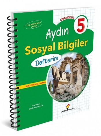 Aydın Yayınları 5. Sınıf Sosyal Bilgiler Defterim Aydın