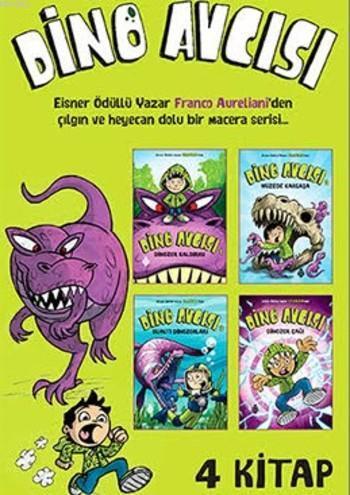 Dino Avcısı; (4 Kitap)