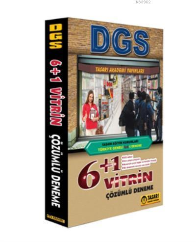 DGS Türkiye Geneli İlk 6 Vitrin Çözümlü Denemeler