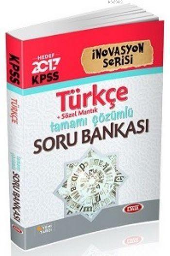 KPSS İnovasyon Serisi Türkçe Tamamı Çözümlü Soru Bankası 2017