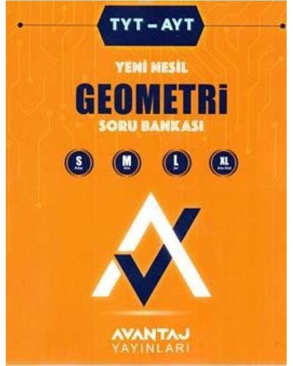 Avantaj TYT AYT Geometri Yeni Nesil Soru Bankası