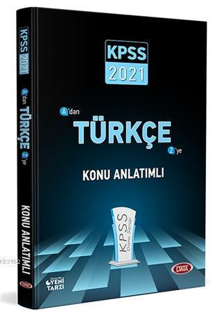 2021 KPSS A'dan Z'ye Türkçe Konu Anlatımlı