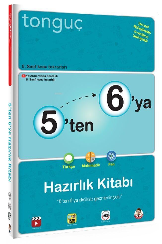 Tonguç 5'ten 6'ya Hazırlık Kitabı
