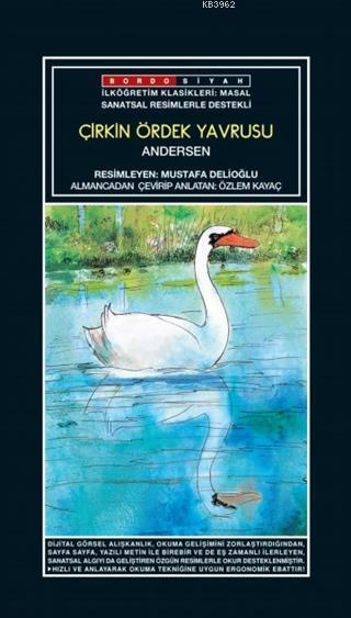 Sanatsal Resimli Çirkin Ördek Yavrusu; Andersen Masalları