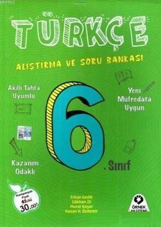 6. Sınıf Türkçe Alıştırma ve Soru Bankası