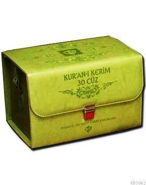 Kur'an-ı Kerim 30 Cüz (Bez Cilt)