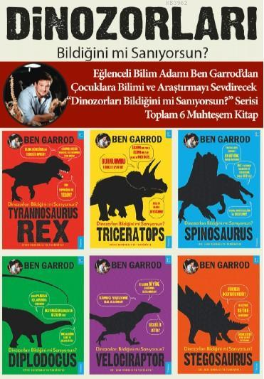 Dinozorları Bildiğini mi Sanıyorsun?; 6 Kitaplık Set
