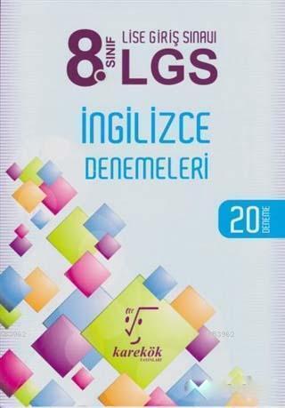 8. Sınıf LGS İngilizce Denemeleri; 20 Deneme