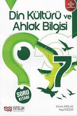 Nitelik Yayınları 7. Sınıf Din Kültürü ve Ahlak Bilgisi Soru Kitabı Nitelik