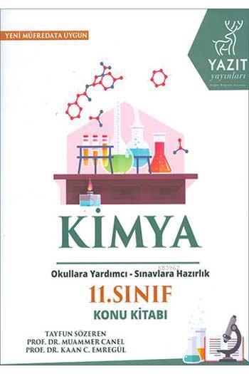 2019 11. Sınıf Kimya Konu Kitabı Okullara Yardımcı - Sınavlara Hazırlık