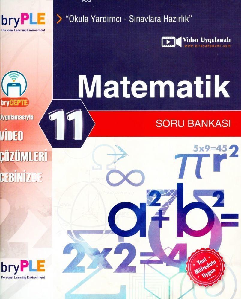 2019 11. Sınıf Matematik Soru Bankası Bire PLE