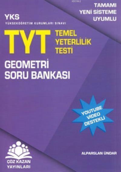 Çöz Kazan YKS TYT Geometri Soru Bankası