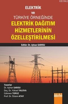 Elektrik Dağıtım Hizmetlerinin Özelleştirilmesi; Elektrik Ve Türkiye Örneğinde