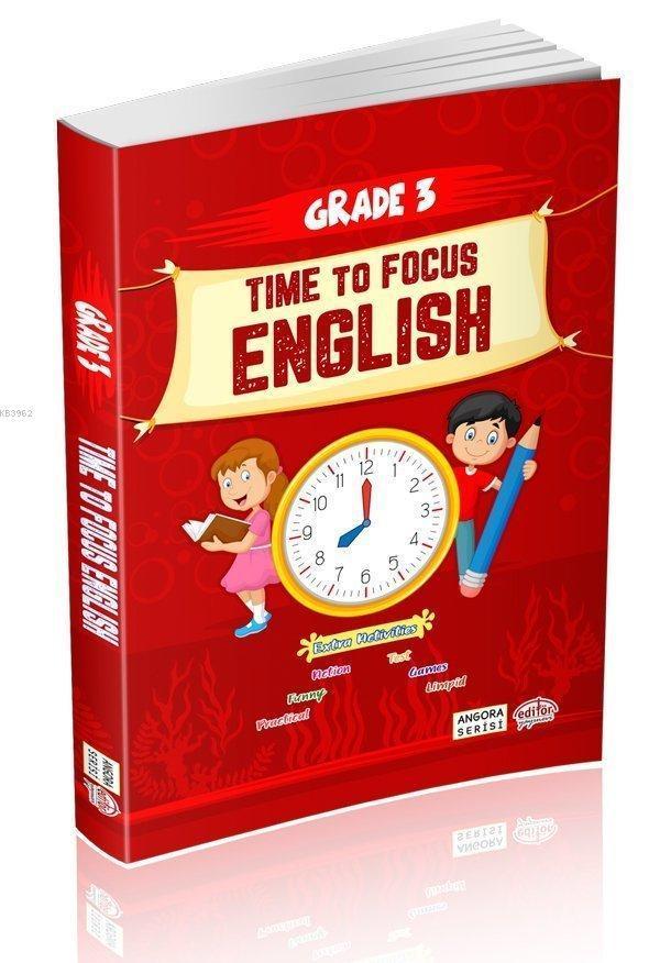 Editör Yayınları 3. Sınıf Time To Focus English
